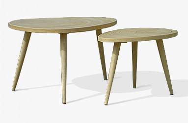 Abalone Nesting tables