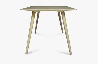 Dining table in bamboo