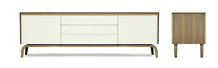 Contemporary bamboo furniture