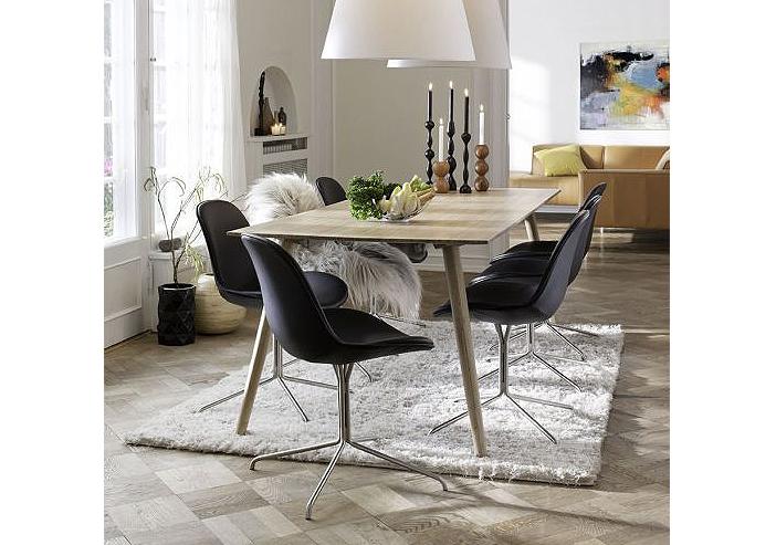 Dining table in bamboo Danish design